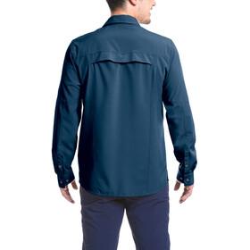 Maier Sports Peregrin Longsleeve Shirt Heren, aviator